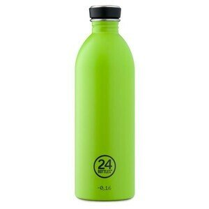 Trinkflasche 1 l Urban Bottle lime grün 24bottles