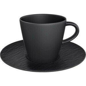 Kaffeetasse mit Untere 0,22 l Manufacture Rock Villeroy & Boch