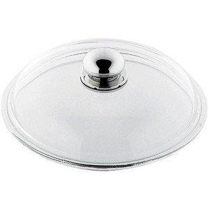 Glasdeckel 18cm mit Metallgriff Silit
