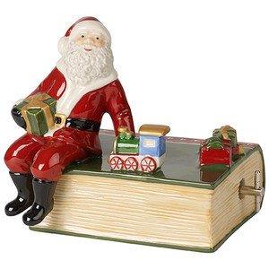 Buch mit Santa 11 x 9 x 11 cm Nostalgic Melody Villeroy & Boch