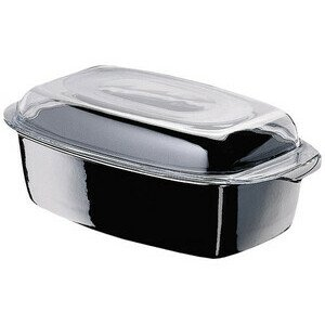 Schlemmerkasserolle 5,3 l schwarz Silit