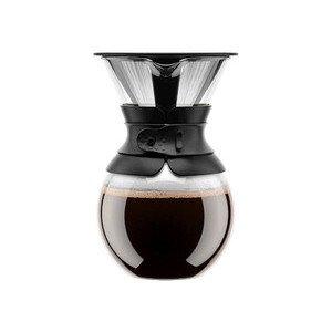 Kaffeebereiter 1l Pour Over schwarz Bodum