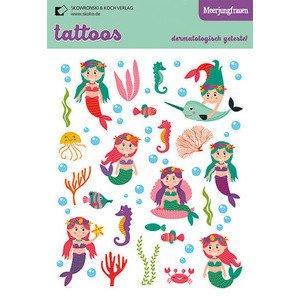 Tattoos Meerjungfrauen Taurus Kunstkarten