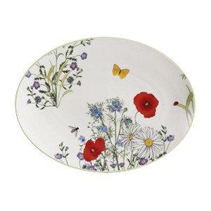 "Platte 24 cm ""Summergarden"" oval Dibbern"