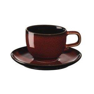 Espressotasse m. Untere 0,06l Kolibri rusty red ASA