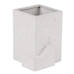Vase klein 7,5x7,5x10 cm Hausgarten Räder