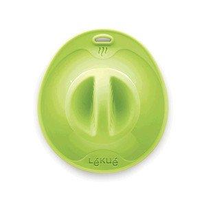 Verschlussdeckel 10,5 cm grün Lekue