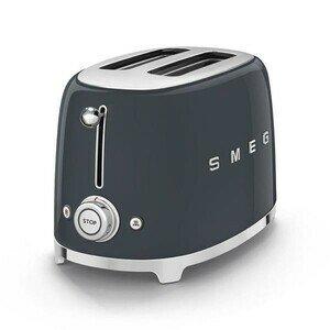 2-Schlitz-Toaster 50's Style anthrazit smeg