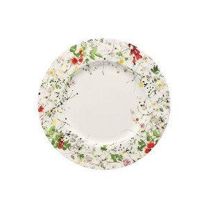 "Frühstücksteller 23 cm Blumen ""Brillance Fleurs Sauvages"" Rosenthal"