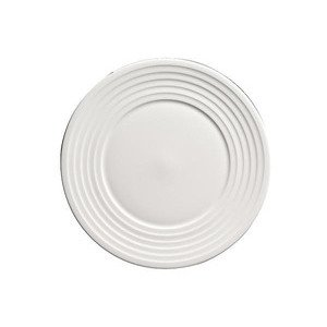 Teller flach 28 cm Bone China Relief Dibbern