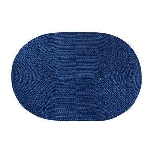 Tischset oval 45x31cm blau Continenta