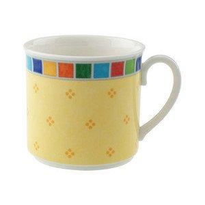 """Kombi-Obertasse (Kaffee- und Tee-Obere) 200 ml """"Twist Alea Limone"""" Villeroy & Boch"""