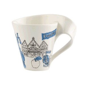 Becher m. Henkel 0,3 l Frankfu Cities of the World Mug Villeroy & Boch