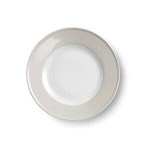 Teller flach Fahne 26 cm Solid Color pearl Dibbern