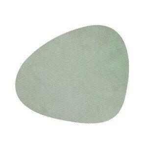 Tischset 37x44 cm abgerundet L Hippo Olivegrün LINDDNA