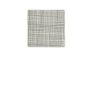 Teller quadr. 22 cm flach Mesh Line Forest Rosenthal