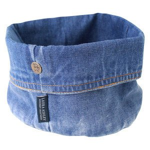 Brotkorb 11x17 cm Jeans Laura Ashley