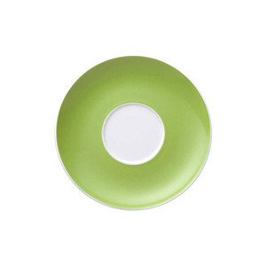 Cappuccinountertasse 16,5 cm rund mit Spiegel Sunny Day Apple Green Thomas