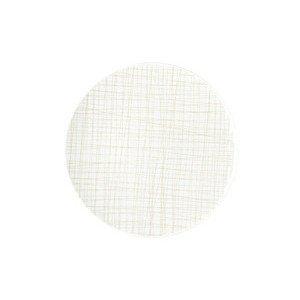 Teller flach 24 cm Mesh Line Cream Rosenthal