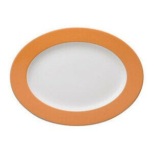 Platte 33 cm oval Sunny Day Orange orange Thomas