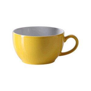 """Kaffee-Obertasse 250 ml """"Solid Color Sonnengelb"""" rund Dibbern"""