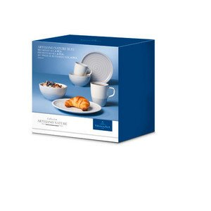 Breakfast Set 6tlg. Artesano Nature bleu -- Villeroy & Boch