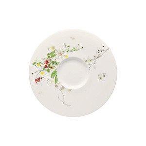 """Suppen-Untertasse 18,5 cm Blumen """"Brillance Fleurs Sauvages"""" Rosenthal"""