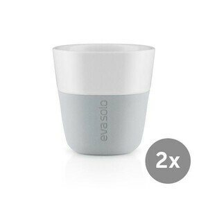 Espresso Becher 2er Set marble grey Eva Solo