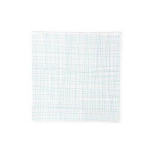 Teller quadr. 27 cm flach Mesh Line Aqua Rosenthal