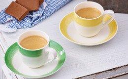 Tassen für Tee & Kaffeespezialitäten