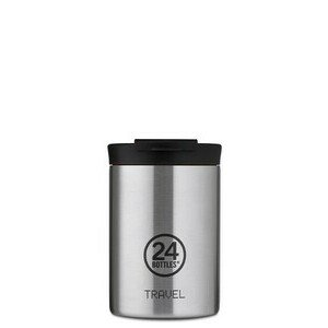 Thermobecher 0,35 l Travel Tumbler silber 24bottles