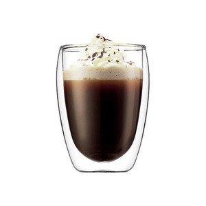 Cappuccino-Glas 0,35l Pavina doppelwandig 2er Set Bodum