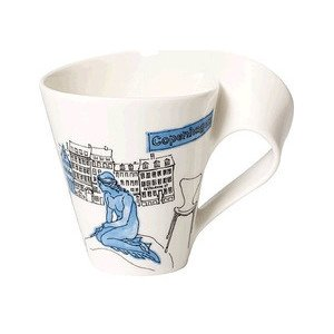 Becher m. Henkel 0,3 l Copenha Cities of the World Mug Villeroy & Boch