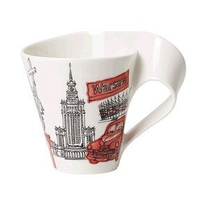 Henkelbecher 0,3 l Warsaw Cities of the World Villeroy & Boch
