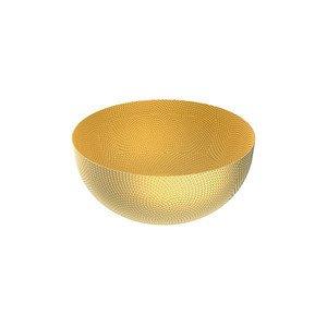 Schale rund 21cm H.9,5cm Messing mit Reliefdekor Alessi