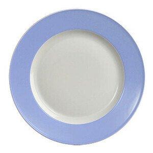 Teller flach 28 cm Fahne Solid Color lavendelblau Dibbern