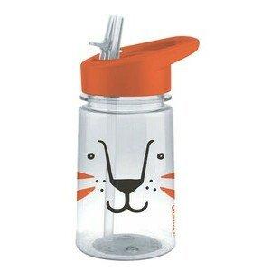 Trinkflasche 430 ml Aveo Zoo Line Lion Orange Aladdin