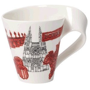 Becher m. Henkel 0,3 l Bordeau Cities of the World Mug Villeroy & Boch