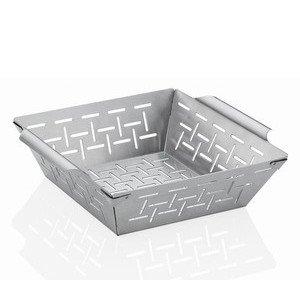 BBQ Grillkorb Style Edelstahl 25,5x21x7,5cm Küchenprofi