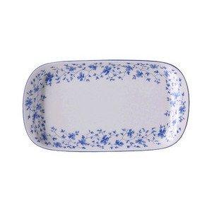 Milch und Zucker Tablett Form 1382 Blaublüten Arzberg