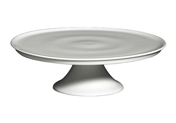tortenplatte 32 cm bone china weiss tortenplatten servieren geschirr tischwelt online shop. Black Bedroom Furniture Sets. Home Design Ideas