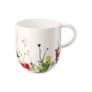 Becher m. Henkel Brillance Fleurs Sauvages Rosenthal