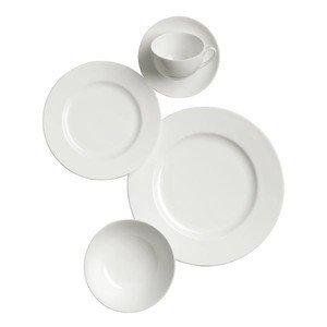 Geschirr Set 5tlg. Bone China Weiß Dibbern