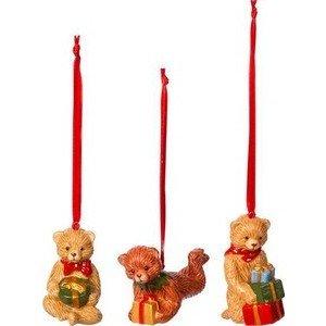 Ornamente Teddy 3 St. Nostalgic Ornaments Villeroy & Boch