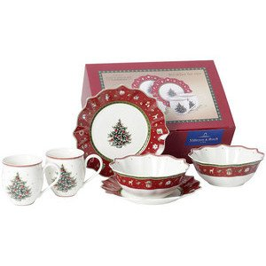 Breakfast for 2 rot, Set 6tlg. Toy's Delight Villeroy & Boch