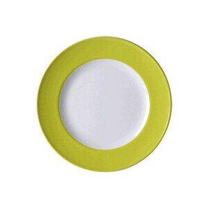 Teller 26 cm Solid Color Limone flach Dibbern