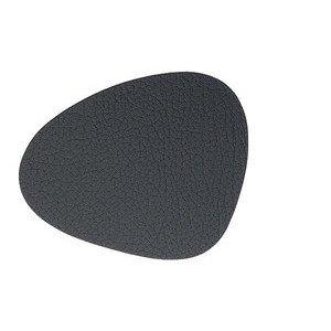 11x13 cm Untersetzer curve black/Bull LINDDNA