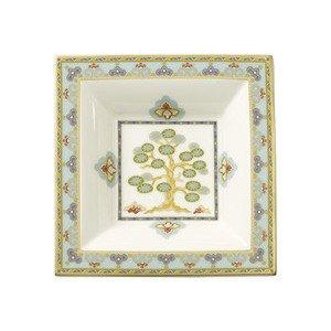 """Schale 14,0 cm x 14,0 cm quadratisch """"Samarkand Aquamarin"""" Villeroy & Boch"""