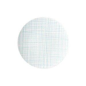 Teller flach 24 cm Mesh Line Aqua Rosenthal