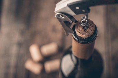 Flaschenöffner und Korkenzieher